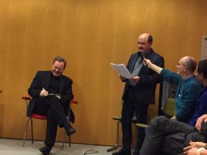 Fragenstellung an Bischof Georg aus der Runde